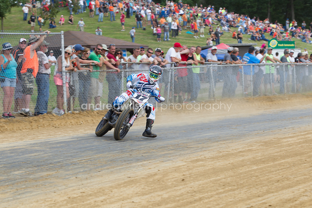 Peoria TT - AMA Pro Flat Track - Peoria, Illinois - August 14, 2016 :: Contact me for download access if you do not have a subscription with andrea wilson photography. :: ..:: For anything other than editorial usage, releases are the responsibility of the end user and documentation will be required prior to file delivery ::..