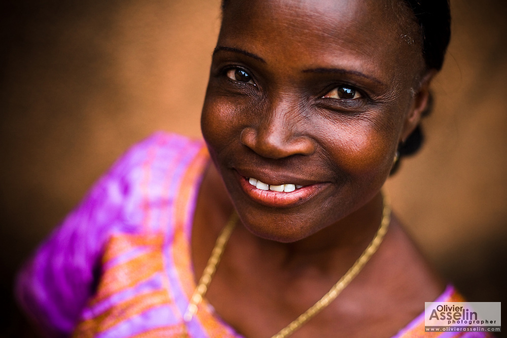 """Mariam Banemanie Traor?, 54, a victim of female genital mutilation who had her clitoris surgically restored three years ago, poses for a portrait in Bobo-Dioulasso, 365 kilometres west of Burkina Faso's capital Ouagadougou on Monday May 4, 2009. """"Women deserve pleasure"""", she says, """"and they also deserve dignity."""""""