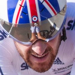 24-09-2014: Wielrennen: WK tijdrijden Elite mannen: Ponferrada<br /> WIELRENNEN PONFERRADA SPAIN TIME TRAIL MEN<br /> Sir Bradley Wiggins World Champion Time Trail