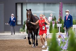 Merrald Nanna Skodborg, DEN, Zack, 121<br /> Olympic Games Tokyo 2021<br /> © Hippo Foto - Dirk Caremans<br /> 23/07/2021