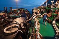 Refueling ship on its way to South Lamma island to refuel a cargo ship.