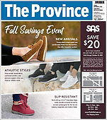 October 15, 2021 - CANADA: Front-page: Today's Newspapers In Canada