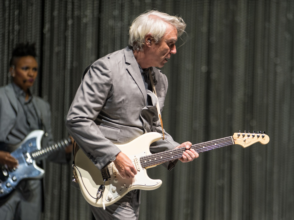 David Byrne in concert at TheRoyal Concert Hall, Glasgow, Great Britain 15th June 2018