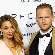 NLD/Amsterdam/20151028 - Premiere James Bondfilm Spectre, Georgina Verbaan en ................