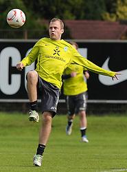 28.04.2011, Trainingsgelaende Werder Bremen, Bremen, GER, 1.FBL, Training Werder Bremen, im Bild Daniel Jensen (Bremen #20)   EXPA Pictures © 2011, PhotoCredit: EXPA/ nph/  Frisch       ****** out of GER / SWE / CRO  / BEL ******