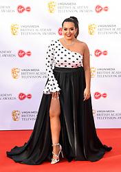 Scarlett Moffatt attending the Virgin Media BAFTA TV awards, held at the Royal Festival Hall in London. Photo credit should read: Doug Peters/EMPICS