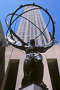 Atlas Statue, Rockefeller Center, Manhattan, New York