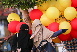 September 1, 2017 - Cairo, Egypt - Muslim people during the first day of Eid al-Adha, or the Festival of Sacrifice, in Cairo, Egypt. (Credit Image: © Fayed El-Geziry/NurPhoto via ZUMA Press)