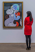 The Dream 1932 - The EY Exhibition: Picasso 1932 – Love, Fame, Tragedy a new exhibition at the Tate Modern.  It brings together over 100 works made by Pablo Picasso (1881–1973) during 1932, one of the most intensely creative periods in his life.