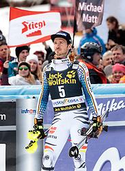 05.03.2017, Podkoren, Kranjska Gora, SLO, FIS Weltcup Ski Alpin, Kranjska Gora, Slalom, Herren, Siegerehrung, im Bild Felix Neureuther (GER, 3. Platz) // third placed Felix Neureuther of Germany during the winner Ceremony for the men's Slalom of FIS Ski Alpine World Cup at the Podkoren in Kranjska Gora, Slovenia on 2017/03/05. EXPA Pictures © 2017, PhotoCredit: EXPA/ Johann Groder
