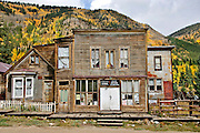 """St. Elmo old West """"ghost""""  town, Colorado, autumn"""