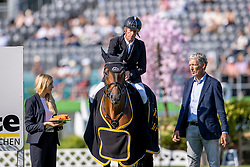Ehning Marcus, GER, Comme Il Faut 5, breeder Ludger Beerbaum<br /> Farewell from the sport<br /> European Championship Riesenbeck 2021<br /> © Hippo Foto - Dirk Caremans<br /> 04/09/2021