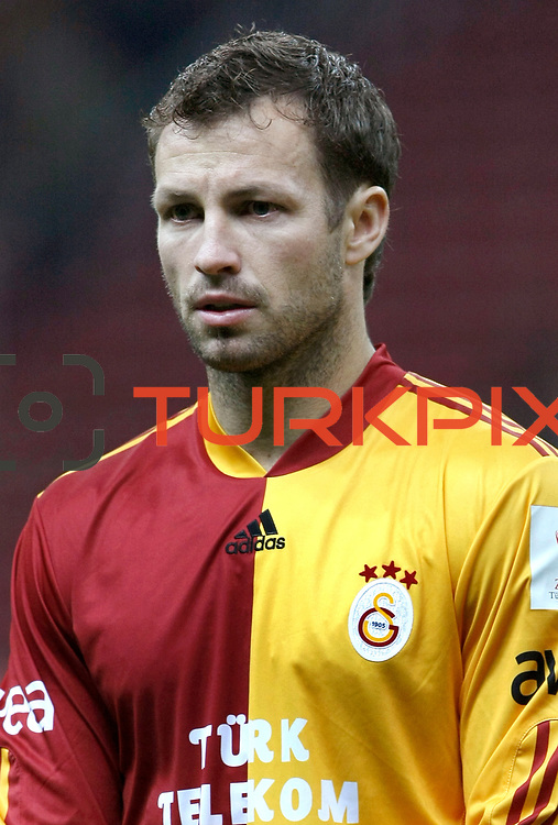 Galatasaray's Lucas NEILL during their Turkey Cup Quarter final matchday 2 Galatasaray between Gasiantepspor at the AliSamiYen Turk Telekom Arena in Istanbul Turkey on Wednesday 02 March 2011. Photo by TURKPIX