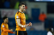 Wolverhampton Wanderers defender Danny Batth celebrates at full time during the EFL Sky Bet Championship match between Leeds United and Wolverhampton Wanderers at Elland Road, Leeds, England on 7 March 2018. Picture by Paul Thompson.