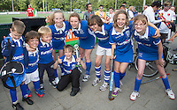 Amstelveen - Kqmpong LG, winnaars in hun poule. NK LG Hockey KNHB in samenwerking met de Dirk Kuyt Foundation. . COPYRIGHT KOEN SUYK