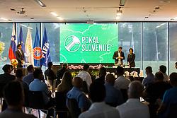 Pokal Slovenije during NZS Draw for season 2019/20, on June 21, 2019 in Celje, Maribor, Slovenia. Photo by Ziga Zupan / Sportida