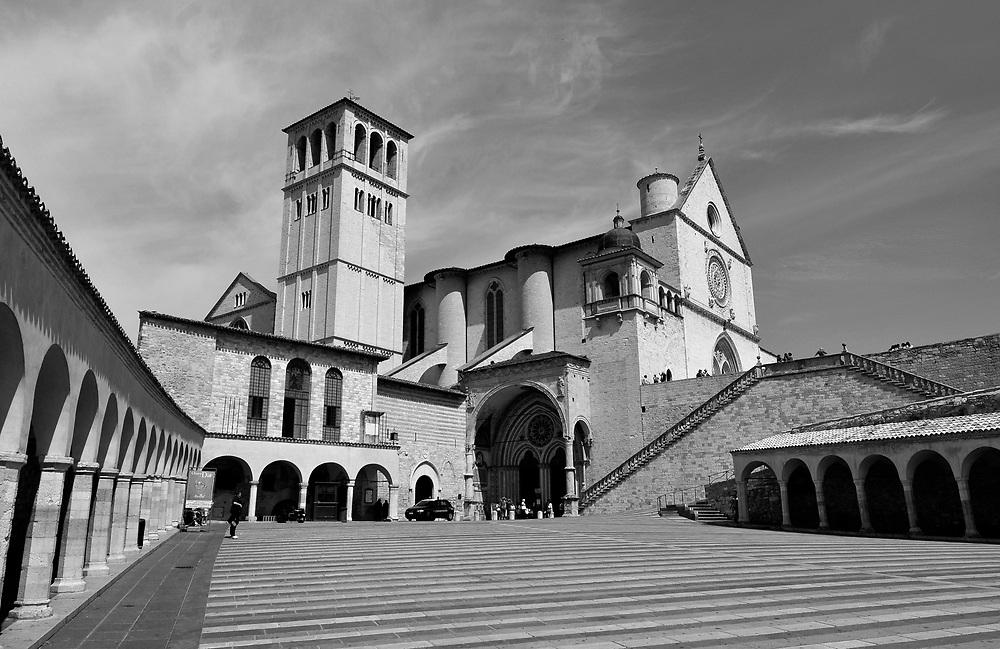 St Francis Basilica, Assisi, Italy.