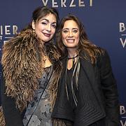 NLD/Amsterdam/20180305 - Première Bankier van het Verzet, Suzanne Klemann en zus Monique Klemann