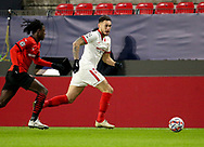 Lucas Ocampos of Sevilla FC during the UEFA Champions League, Group E football match between Stade Rennais and Sevilla FC (FC Seville) on December 8, 2020 at Roazhon Park in Rennes, France - Photo Jean Catuffe / ProSportsImages / DPPI