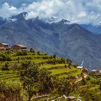 Rice terraces around Sikka Village, Nepal, Photo by MNW