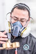 CHINA / Changzhou /  14/11/2013<br /> <br /> Tüv Süd China - Quality Assurance – Fire testing lab<br /> <br /> © Daniele Mattioli