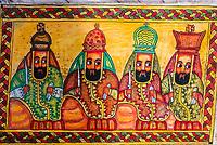 Hand painted souvenirs, Lalibela, Ethiopia.