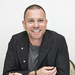 May 11, 2017 - Hollywood, California, U.S. - EWAN MCGREGOR promotes TV series Fargo and movie Star Wars. Ewan Gordon McGregor OBE (born March 31 1971)is a Scottish actor. His first professional role was in 1993, when he won a leading role in the Channel 4 series Lipstick on Your Collar. He is known for playing heroin addict Mark Renton in the drama films Trainspotting (1996) and T2 Trainspotting (2017), the Jedi Obi-Wan Kenobi in the Star Wars prequel trilogy and Star Wars: The Force Awakens (1999–2015), poet Christian in the musical film Moulin Rouge! (2001), Camerlengo Father Patrick McKenna in Angels and Demons (2009), Dr. Alfred Jones in the romantic comedy-drama Salmon Fishing in the Yemen (2011), and Lumiere in a live-action adaptation of Beauty and the Beast (2017). He received Golden Globe nominations for Best Actor Musical or Comedy for both Moulin Rouge! and Salmon Fishing in the Yemen. Zoe (2017), Christopher Robin (announced), The Land of Sometimes (pre-production), Fargo (TV Series 2017), Beauty and the Beast (2017), T2 Trainspotting (2017) (Credit Image: © Armando Gallo via ZUMA Studio)