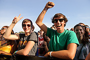 Atmosphere at the LouFest Music Festival in St. Louis, Missouri on August 27 & 28, 2011.