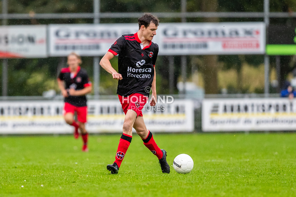ALPHEN AAN DEN RIJN, NETHERLANDS - OCTOBER 2: #11 Jordi Tuithof (ARC) during the Hoofdklasse-A match between ARC and DHSC at Sportpark Zegersloot on October 2, 2021 in Alphen aan den Rijn, Netherlands