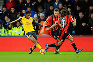 Alex Iwobi (17) of Arsenal on the attack during the Premier League match between Bournemouth and Arsenal at the Vitality Stadium, Bournemouth, England on 3 January 2017. Photo by Graham Hunt.