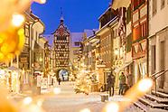 Auswahl Stein Weihnachten und Winter