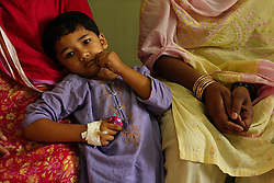 Patients recover from a variety of ailments at the Children's Hospital at the Pakistan Institute of Medical Sciences in Islamabad, Pakistan, Sept. 19, 2007.