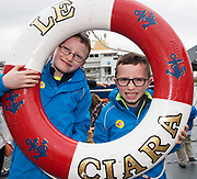 02/07/2017 REPRO FREE:   Daniel and Adam Keane Ballinderreen at Seafest 2017, the National Maritime Festival which rran at the weekend  in Galway.<br /> . Photo:Andrew Downes, xposure .