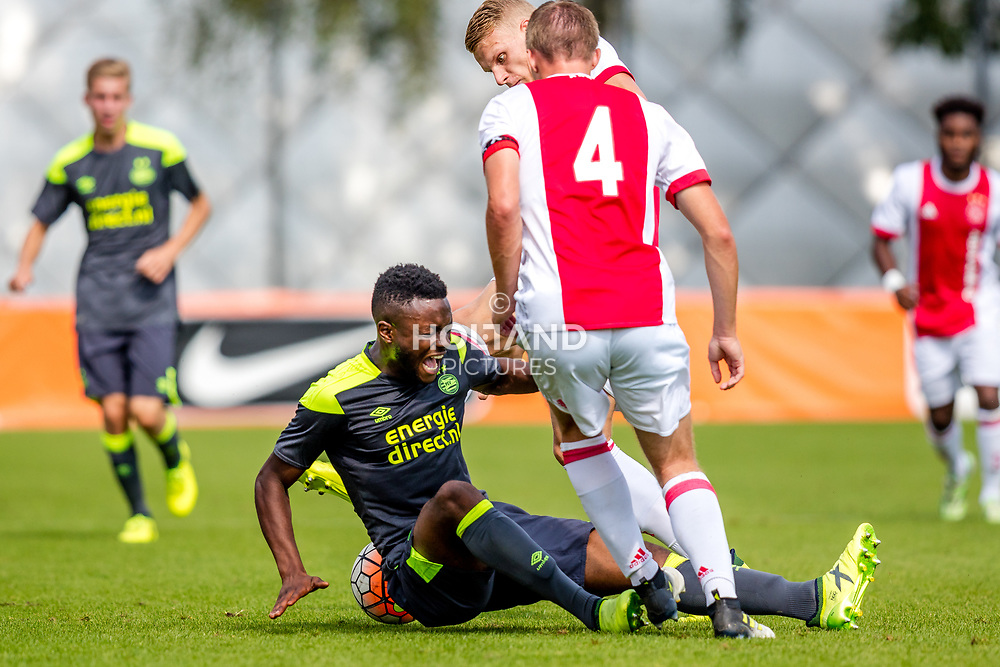 26-08-2017: Voetbal: Ajax O19 v PSV O19: Amsterdam<br /> Leandro Fernandes (PSV)<br /> Supercup O19 - U19<br /> Seizoen 2017-2018
