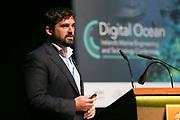 Date: 29/06/2017 Repro free:    Caption: Keynote speaker Dan Hook, Managing Director of ASV Global addressing the Digital Ocean conference in Galway photo: xposure