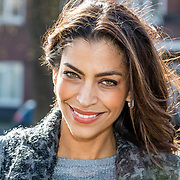 NLD/Amsterdam/20170317 - Actrice Touriya Haoud