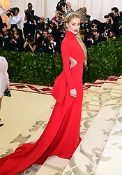 Amber Heard attending the Metropolitan Museum of Art Costume Institute Benefit Gala 2018 in New York, USA.
