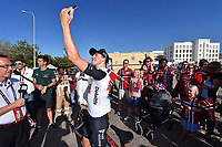 Arrival, BOASSON HAGEN Edvald (NOR) Dimension Data, Selfie during the 7th Tour of Oman 2016, Stage 5, Yiti (Al Sifah) - Ministry of Tourism (119,5Km) on February 20, 2016 - Photo Tim de Waele / DPPI