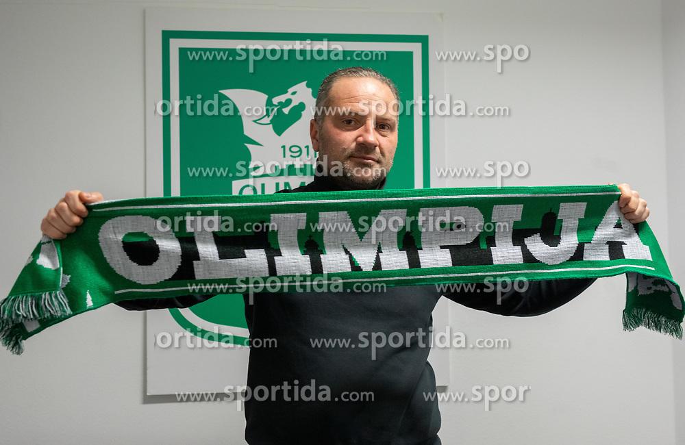 Goran Stankovic during his official presentation as a new coach of NK Olimpija Ljubljana before the spring season of Prva liga Telekom Slovenije 2020/21, on January 12, 2021 in Ljubljana, Slovenia. Photo by Vid Ponikvar / Sportida