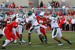 06 Sep 2014: David Perkins, Sean Brown, Patrick Ivy, Oshay Dunmore and Trevin Wallace during a non-conference NCAA football game between the Delta Devils of Mississippi Valley State and the Redbirds of Illinois State at Hancock Stadium in Normal Il