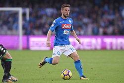 October 29, 2017 - Naples, Naples, Italy - Dries Mertens of SSC Napoli during the Serie A TIM match between SSC Napoli and US Sassuolo at Stadio San Paolo Naples Italy on 29 October 2017. (Credit Image: © Franco Romano/NurPhoto via ZUMA Press)