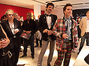 NICK RHODES; JORN WEISBRODT; RUFUS WAINWRIGHT, Prima Donna opening night. Sadler's Wells Theatre, Rosebery Avenue, London EC1, Premiere of Rufus Wainwright's opera. 13 April 2010