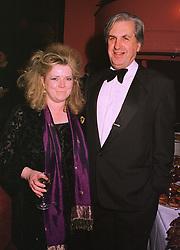 VISCOUNT & VISCOUNTESS FALKLAND at a show in London on 7th December 1998.MMS 33