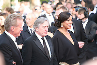 James Woods, Robert De Niro, Grace Hightower at the gala screening Madagascar 3: Europe's Most Wanted at the 65th Cannes Film Festival. On Friday 18th May 2012 in Cannes Film Festival, France.