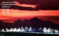 Geo France-Denver International Airport, Denver, Colorado USA
