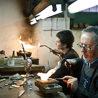 "San Antonio de Areco, Argentina 20 August 2009<br /> Gustavo ""Chavo"" Stagnaro, the best silversmith in San Antonio de Areco, Buenos Aires province.<br /> PHOTO: EZEQUIEL SCAGNETTI"