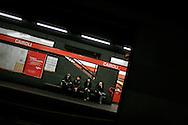Metropolitana di Milano. Underground of Milan