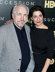 HBO's 'Succession' Premiere Held at the Time Warner Center on May 22, 2018. 22 May 2018 Pictured: Brian Cox & Hiam Abbass. Photo credit: Steven Bergman/AFF-USA.COM / MEGA TheMegaAgency.com +1 888 505 6342