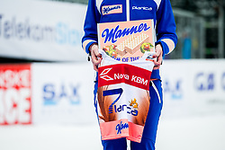 Planica 7 during flower ceremony after the Ski Flying Hill Individual Competition at Day 2 of FIS Ski Jumping World Cup Final 2018, on March 23, 2018 in Planica, Ratece, Slovenia. Photo by Ziga Zupan / Sportida