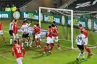 Football - 2020 / 2021 Sky Bet Championship - Swansea City vs Barnsley - Liberty Stadium<br /> <br /> Jake Bidwell of Swansea scores his team's second goal<br /> <br /> COLORSPORT/WINSTON BYNORTH